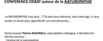 Conférence débat  Naturopathie - Gerbeviller