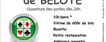 Concours belote - BREMONCOURT
