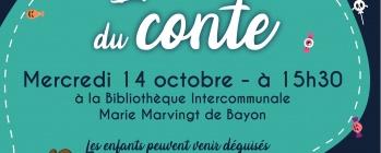 L'heure du conte -BAYON halloween 14/10