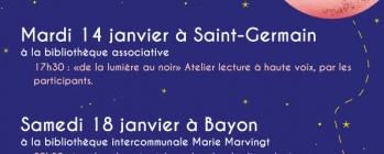 Nuit de la lecture - Bayon - St Germain