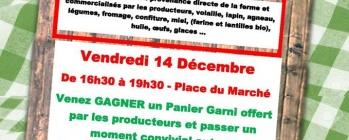 Marché fermier à Damelevières